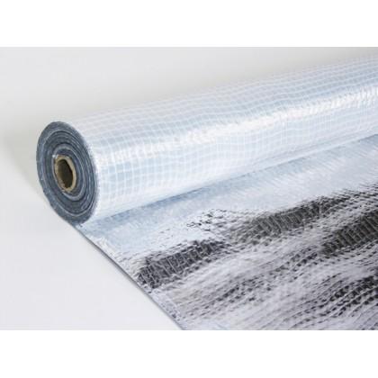 Folie Reflectorizanta Aluminiu  Rola 75m² (50m x 1.5m)