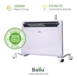 Convector electric Rapid de 1500 W cu Inverter și Wi-Fi