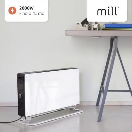 Convector portabil cu convecție instantanee Mill 2000W GLASS